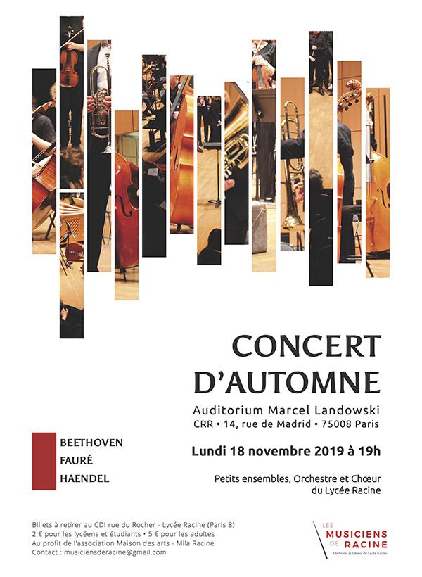 Concert des musiciens de Racine