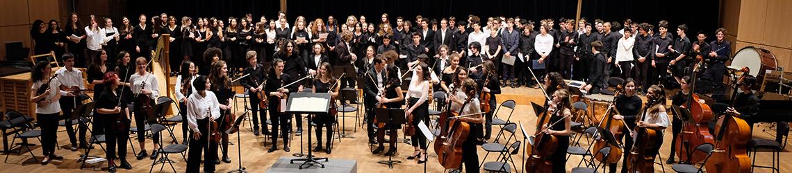 Concert des musiciens de Racine - Direction Jérémy Dirat