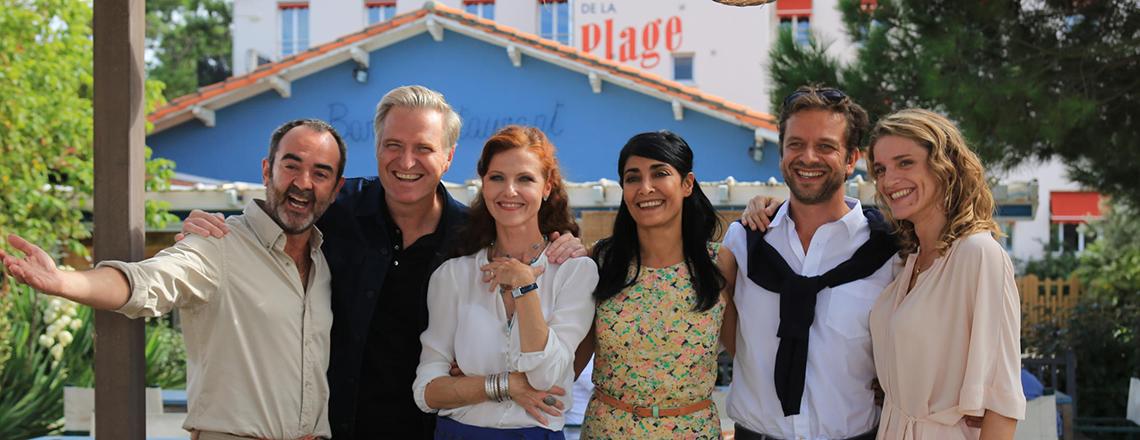 Hôtel de la plage - série TV France 2